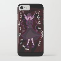 dangan ronpa iPhone & iPod Cases featuring Dangan Ronpa - Sympathy is Overrated  by MinawaKittten