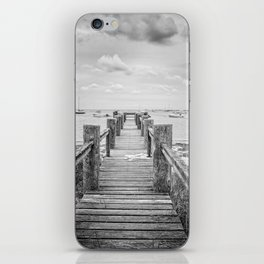 Old Dock Hyannis Port Cape Cod Ma iPhone Skin