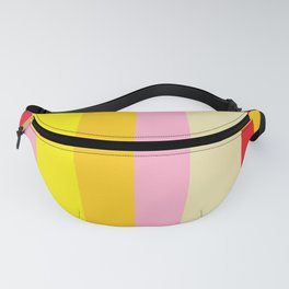 Bold Color - RED, YELLOW, AND PINK Fanny Pack