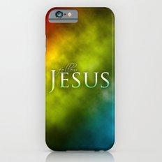 Follow Jesus (green) - Bible Lock Screens Slim Case iPhone 6s