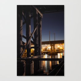Under The Bridge // 4 Canvas Print