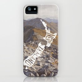 NEW ZEALAND iPhone Case