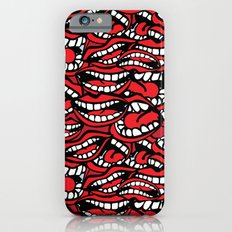 Chatty Pattern iPhone 6s Slim Case