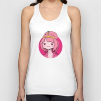 bubblegum Tank Tops featuring Bubblegum by Shay Bromund