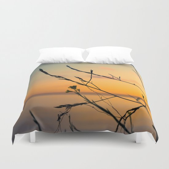 The World Fades Duvet Cover