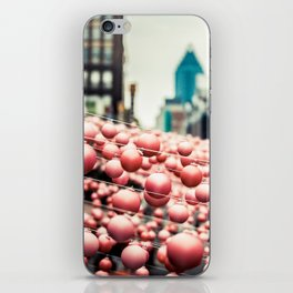 Pink In The Village iPhone Skin