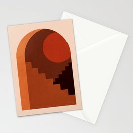 Abstraction_SUN_HOME_MInimalism_001 Stationery Cards