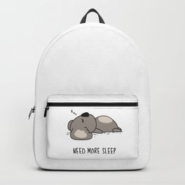 Need More Sleep Backpack