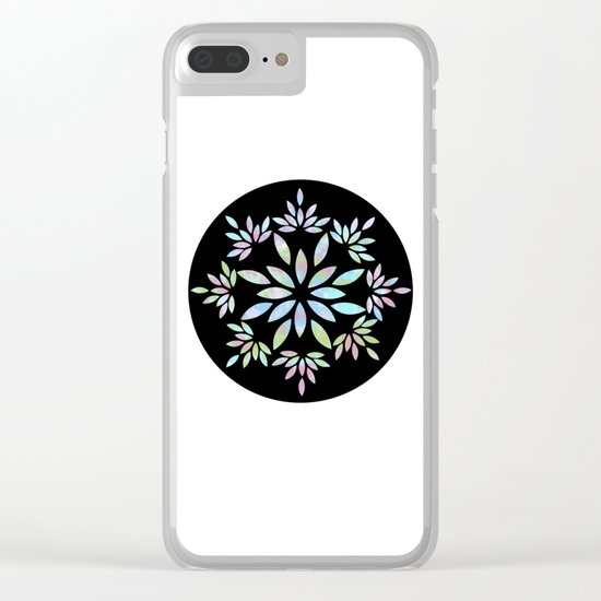 flower 3 Clear iPhone Case
