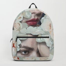 Flower woman Backpack