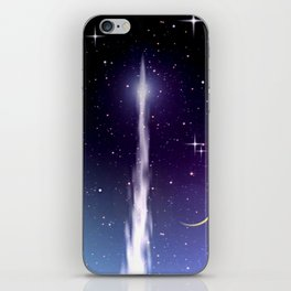 Up to the stars. iPhone Skin