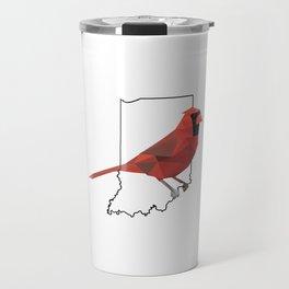 Indiana – Northern Cardinal Travel Mug