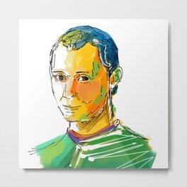 Niccolò Machiavelli Metal Print