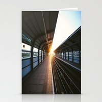 jewish Stationery Cards featuring The light at the end of the tunnel by Brown Eyed Lady