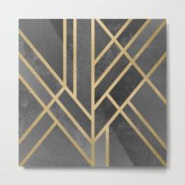 Art Deco Geometry 1 Metal Print