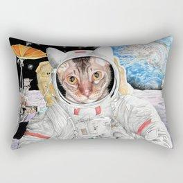 Buzz Cat Rectangular Pillow