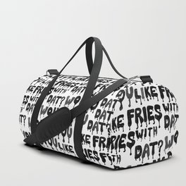 Would You Like Fries wit Dat? Duffle Bag