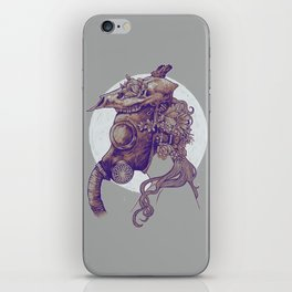 Gas Mask iPhone Skin