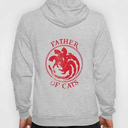 Father of Cats Design Funny Gift for Cat Lovers Hoody