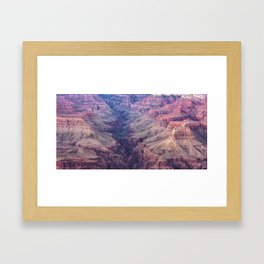 The Valley of Grand Canyon National Park - Panoramic Landscape Framed Art Print