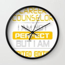 CAREER-COUNSELOR Wall Clock