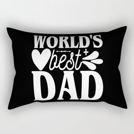 Best Father Father's Day Gift Rectangular Pillow