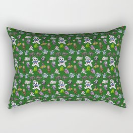 I Ain't Afraid of No Ghost! Rectangular Pillow