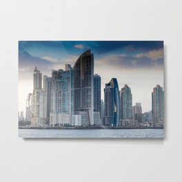 Trump Tower in Panama City Metal Print