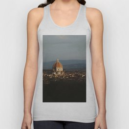 Florence Duomo at Sunrise Unisex Tank Top
