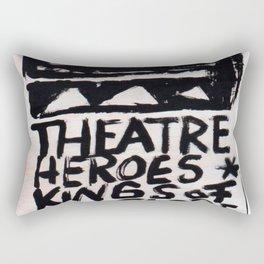 Theatre Heroes Rectangular Pillow