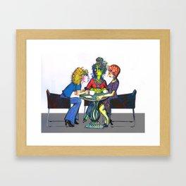 Clique Framed Art Print