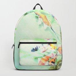 Fish watercolor Backpack