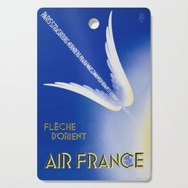 Flèche D'Orient - Vintage Air France Travel Poster Cutting Board