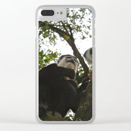 Monkeying Around Clear iPhone Case