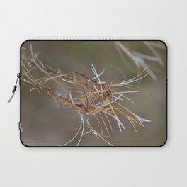 Flower Seed Heads Laptop Sleeve