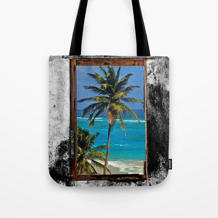 WINDOW ON PARADISE Tote Bag