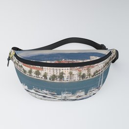 City of Split in Croatia Fanny Pack