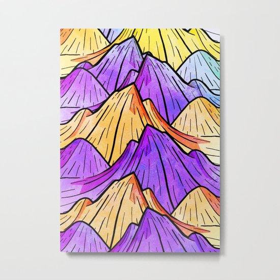The Mountain Range Metal Print