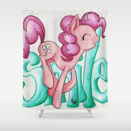 Smile Smile Smile Shower Curtain
