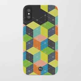 Island of Cubes iPhone Case