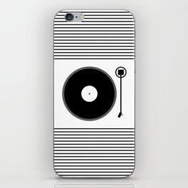 gramofon iPhone Skin