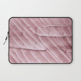 Rosy brown clouded watercolor pattern Laptop Sleeve