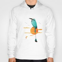 oklahoma Hoodies featuring Oklahoma Bird by HK Chik