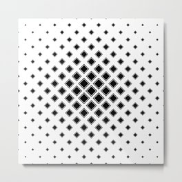 square pattern Metal Print