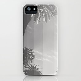 Black and White Palm iPhone Case
