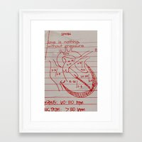 cabin pressure Framed Art Prints featuring Pressure by Scotty Fagaly