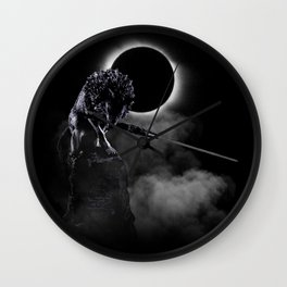 Loyal Wolf Wall Clock