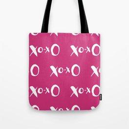 Kisses XOXO Violet Red Tote Bag