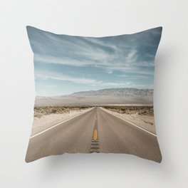 Road to Freedom Throw Pillow