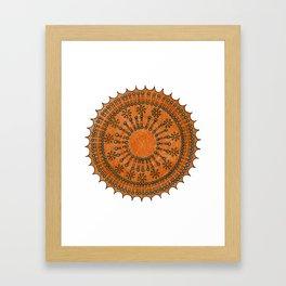 Vesicle Mandala 01 Framed Art Print